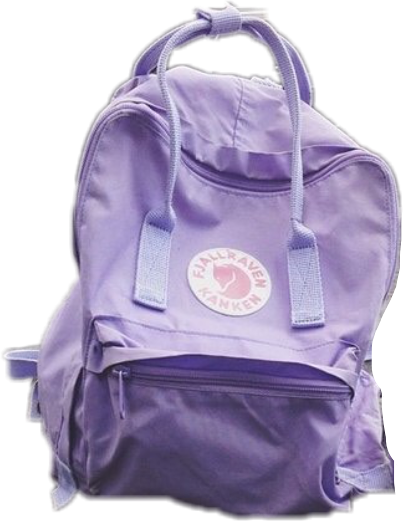 kanken backpack purple tumblr freetoedit