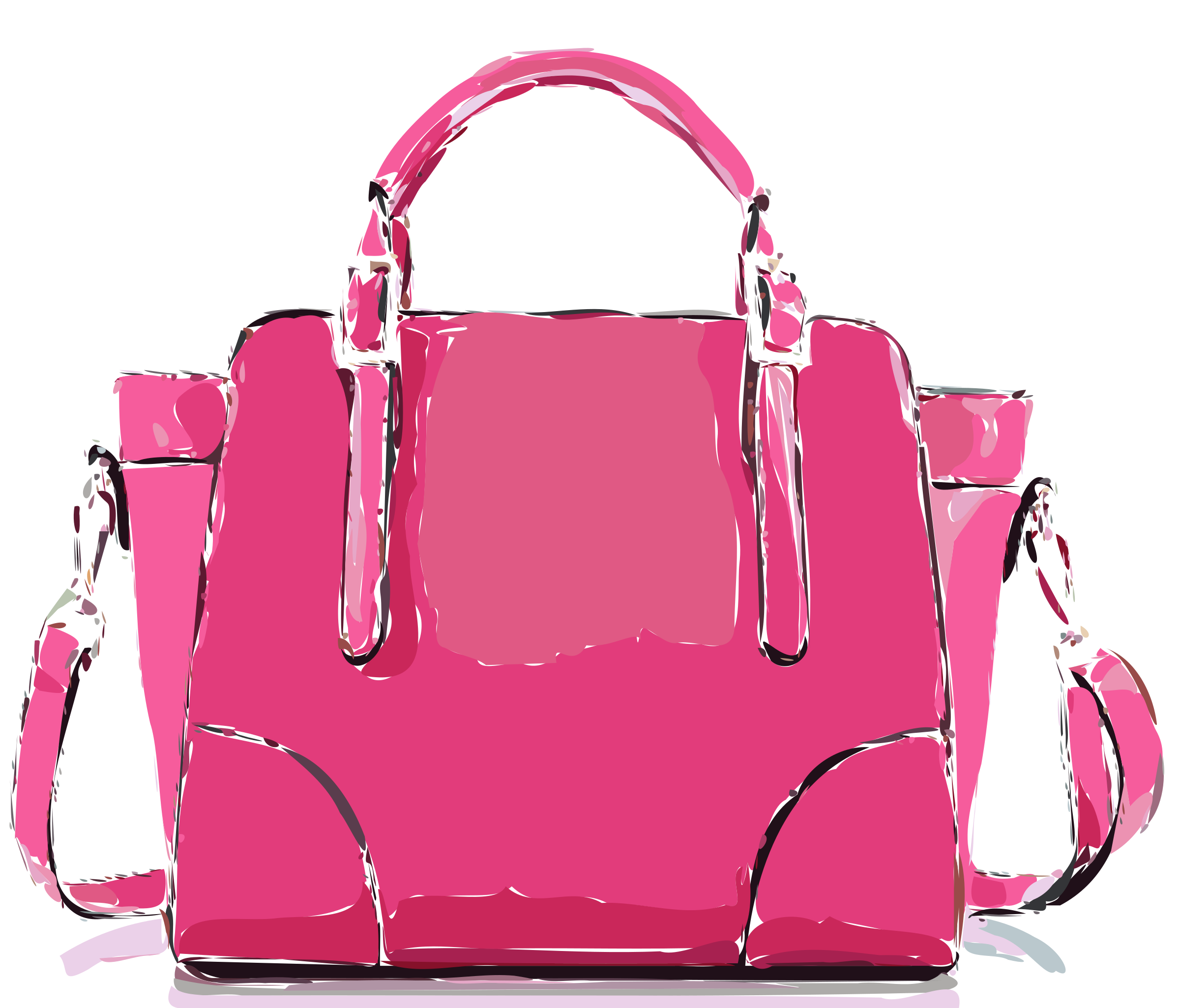 Pinky s bag without. Clipart backpack red purse