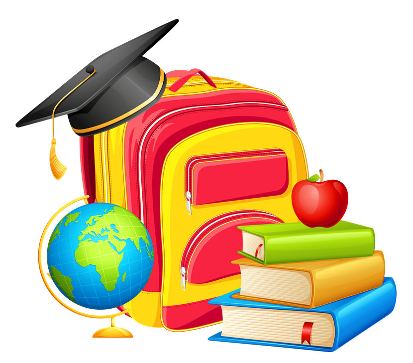 Back to school th. Folder clipart student grade