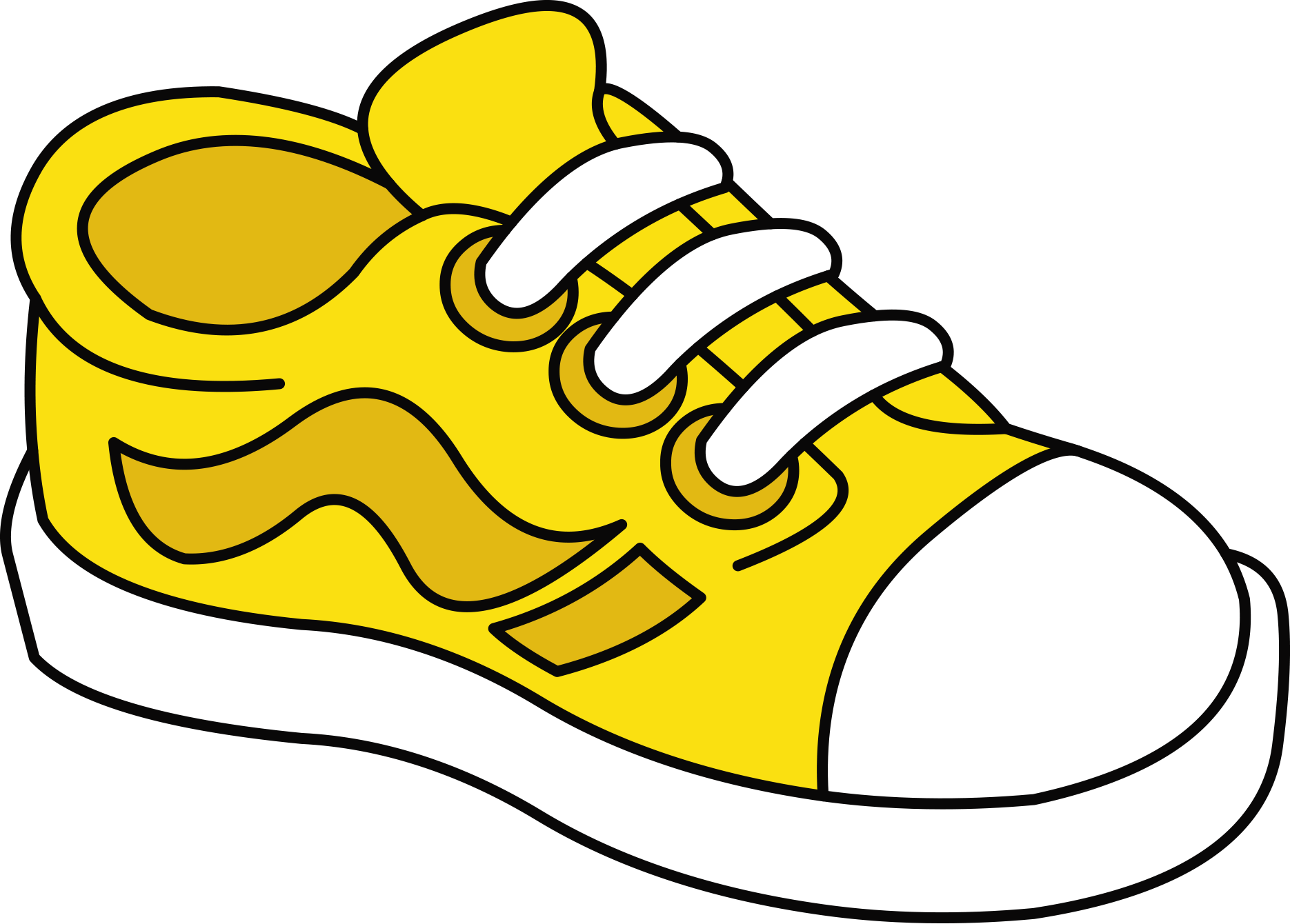 Jacket clipart shoe.  tenis color pinterest
