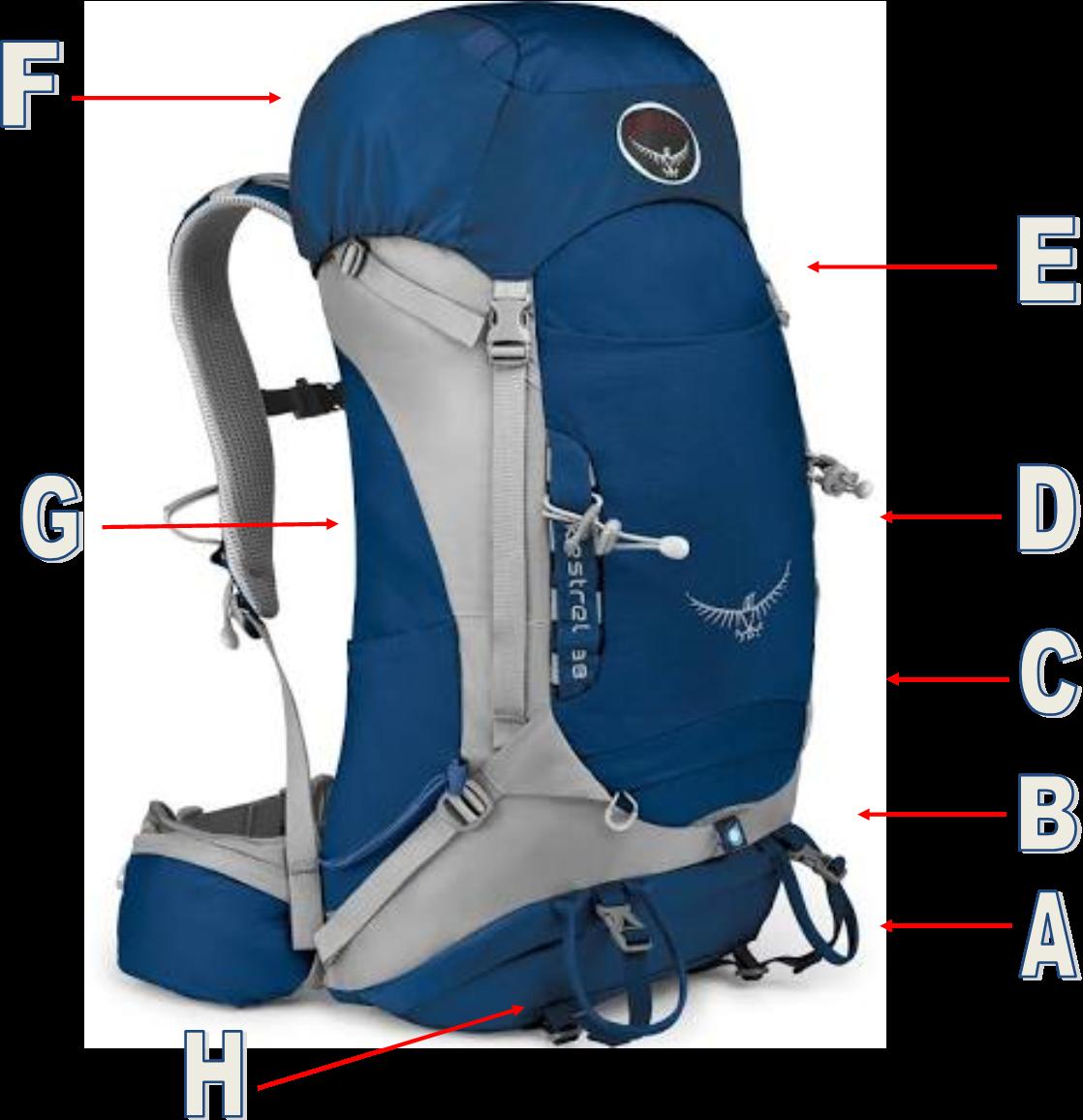 hike clipart travel backpack