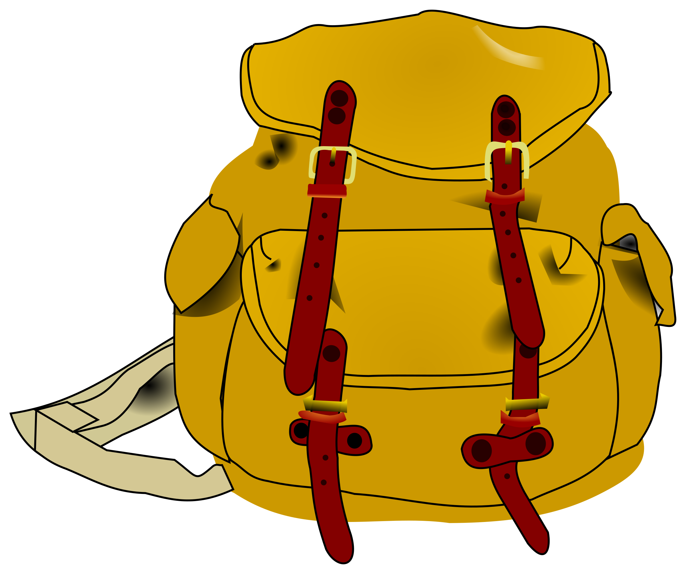 Clipart backpack small backpack. Big image png