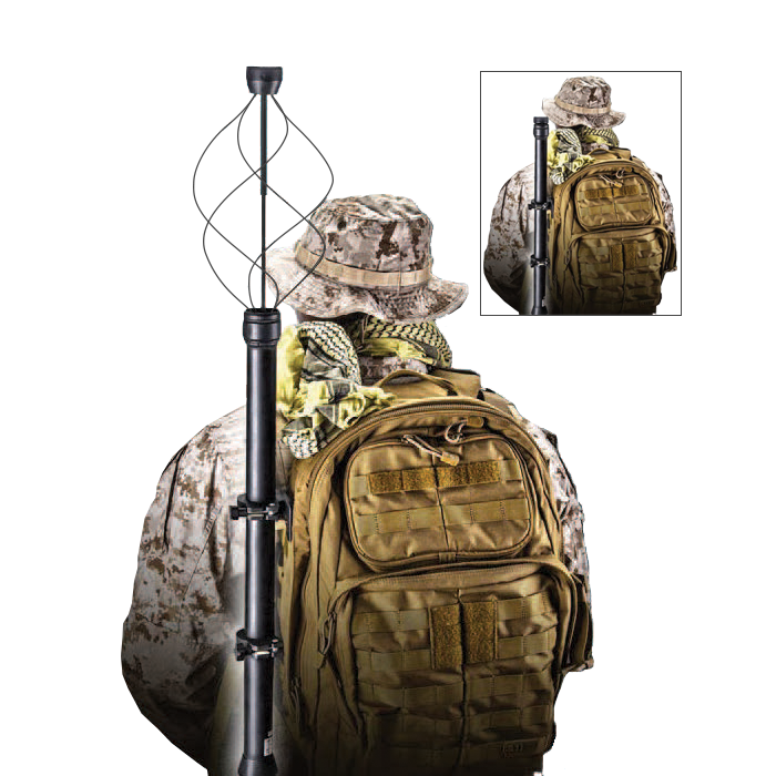 Antennas vss satcom manpack. Clipart backpack soldier
