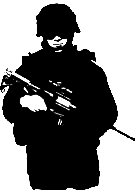 Warrior clipart silhouette. Soldier google search d