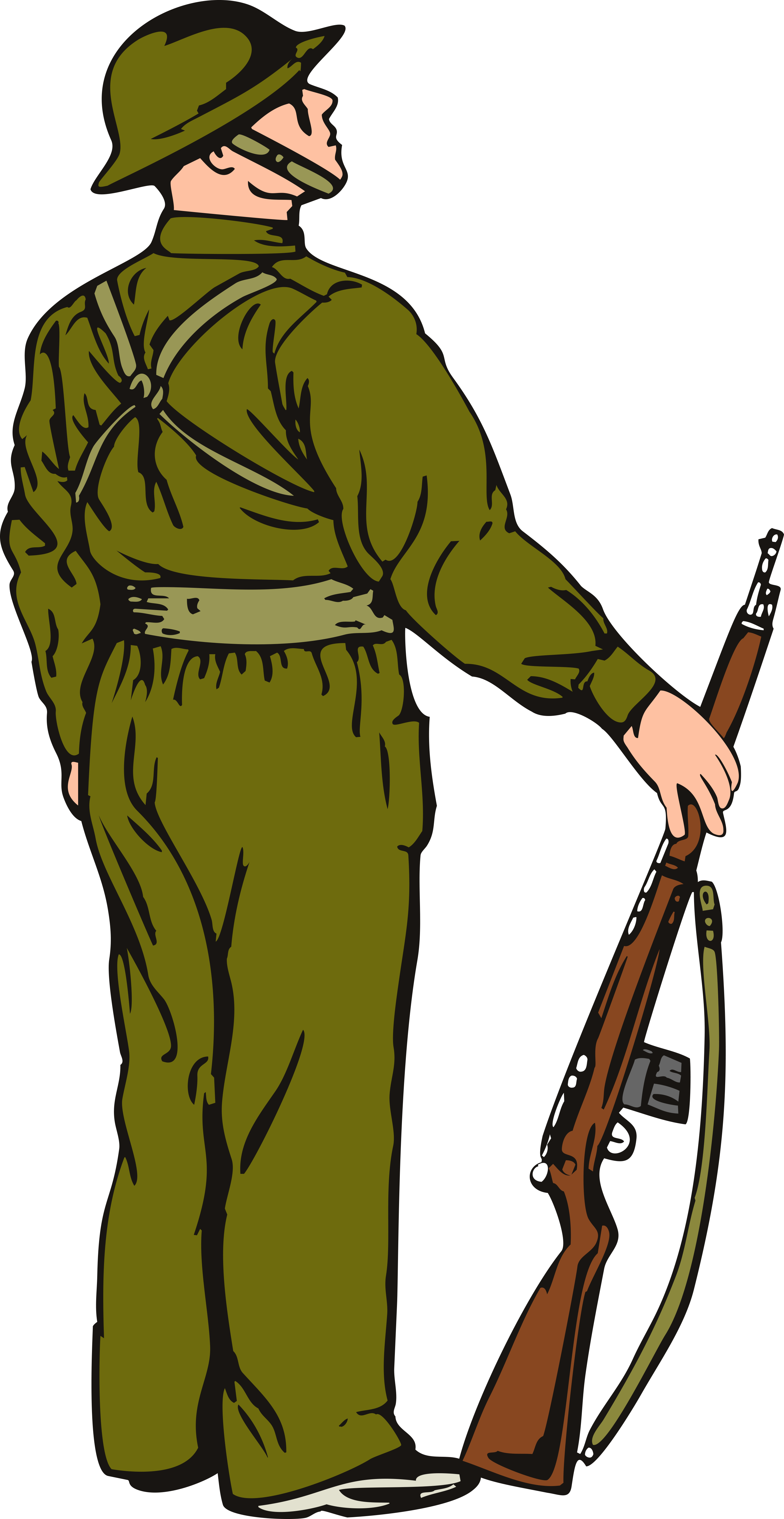 Veteran s day memorial. Clipart backpack soldier