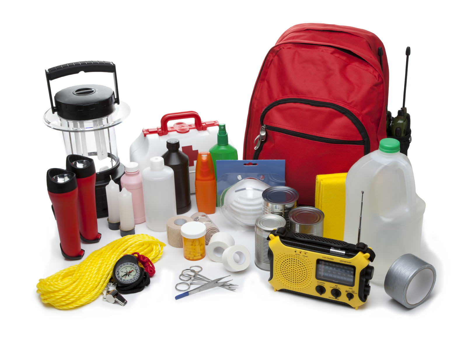 collection of survival. Emergency clipart emergency preparedness