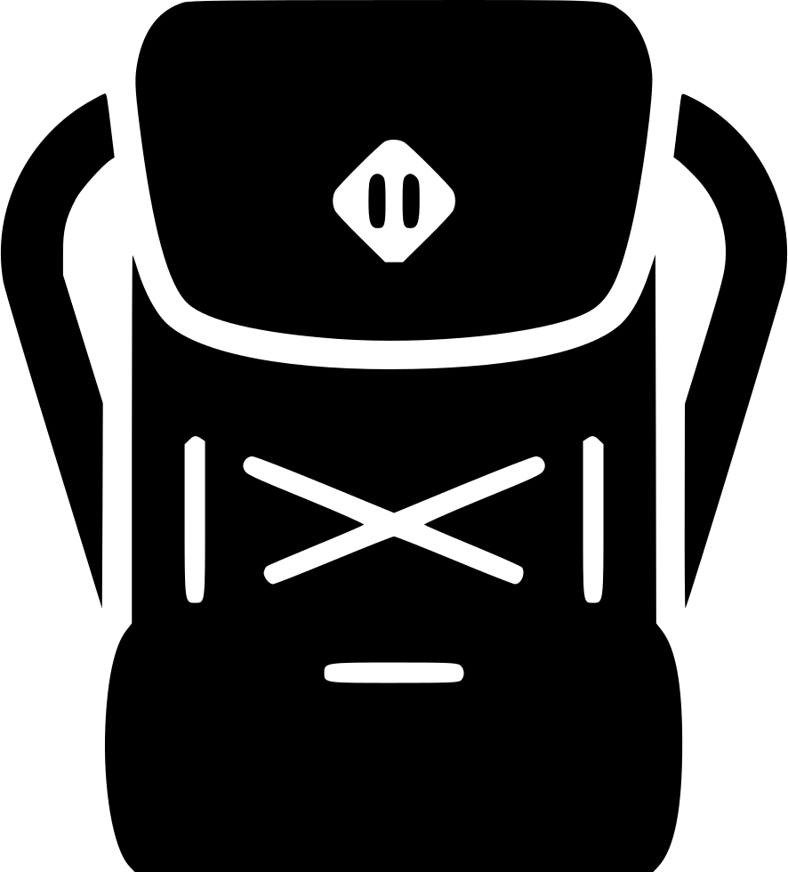 Clipart backpack svg. Png icon free download