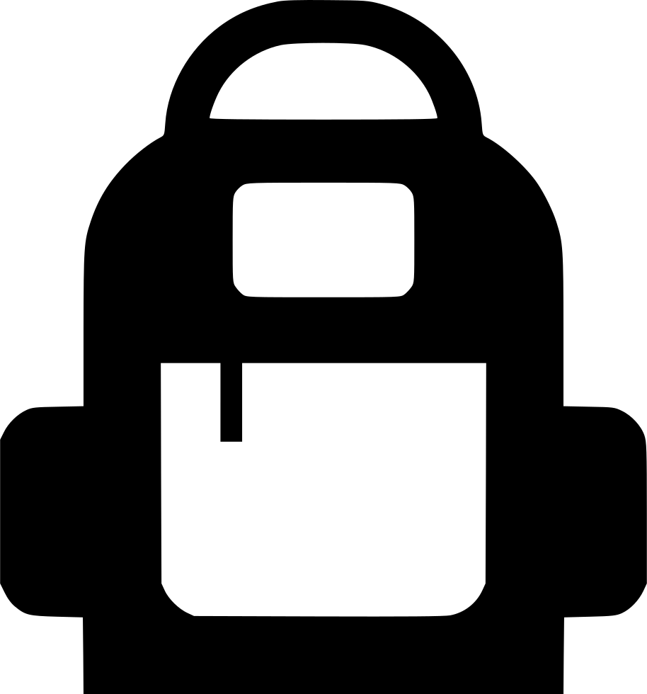 Back Pack Backpack Svg Png Icon Free Download