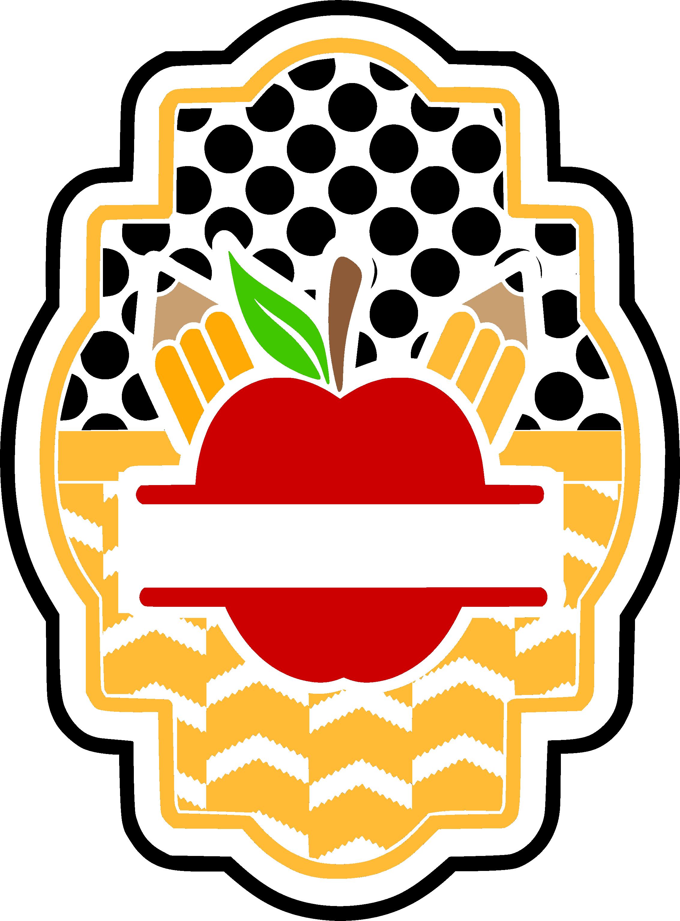 Clipart backpack unzip. School apple pattern blank