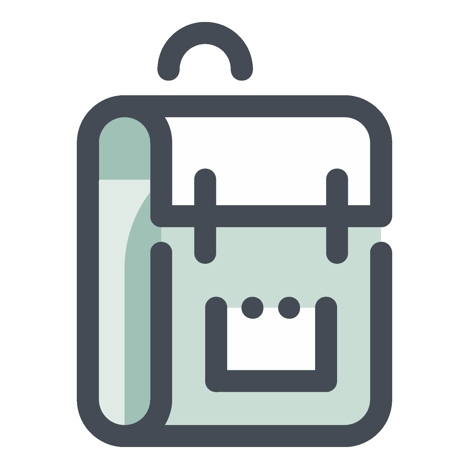 Icon free download png. Clipart backpack vector