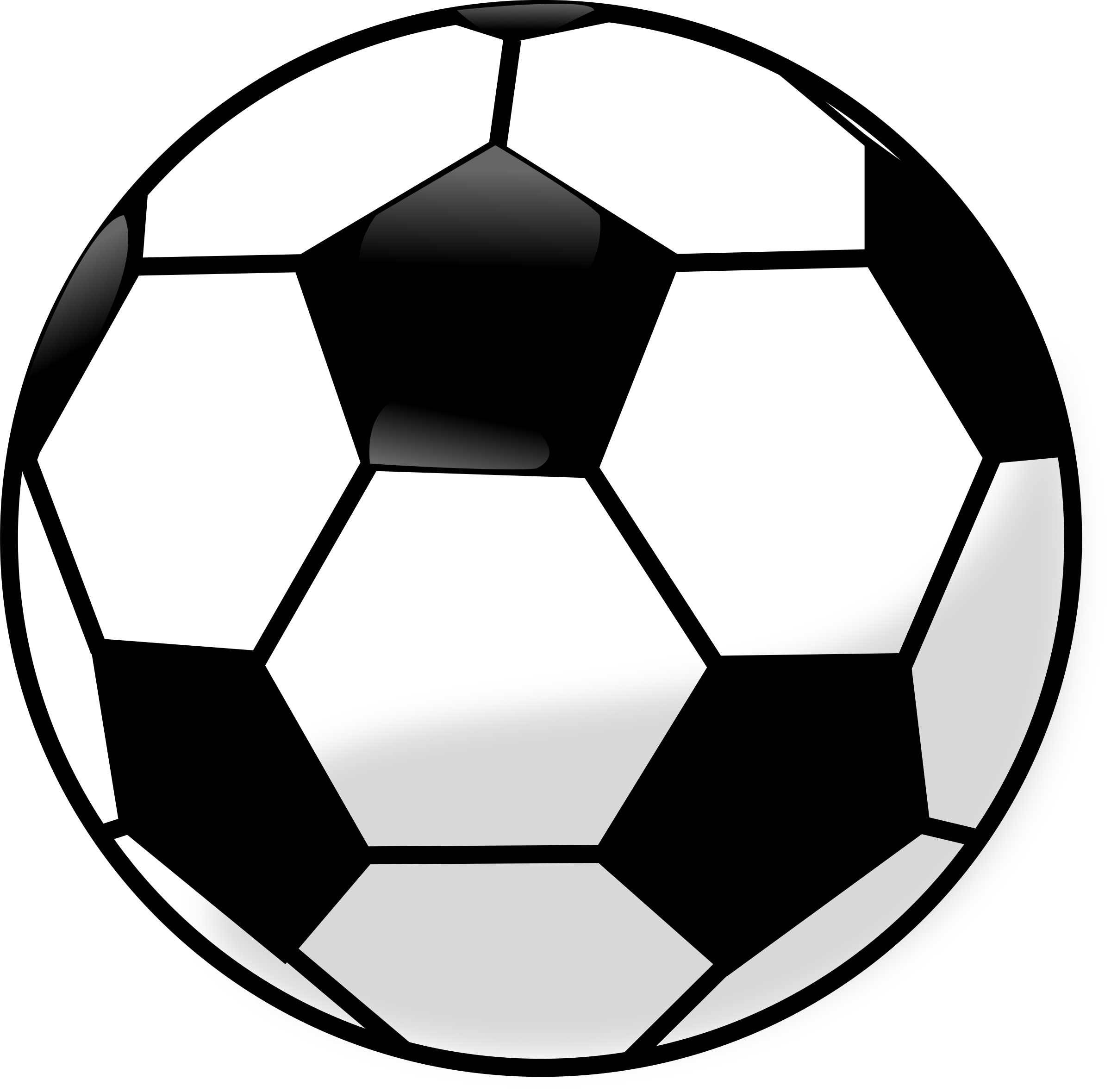 Clipart football clear background. Soccer ball