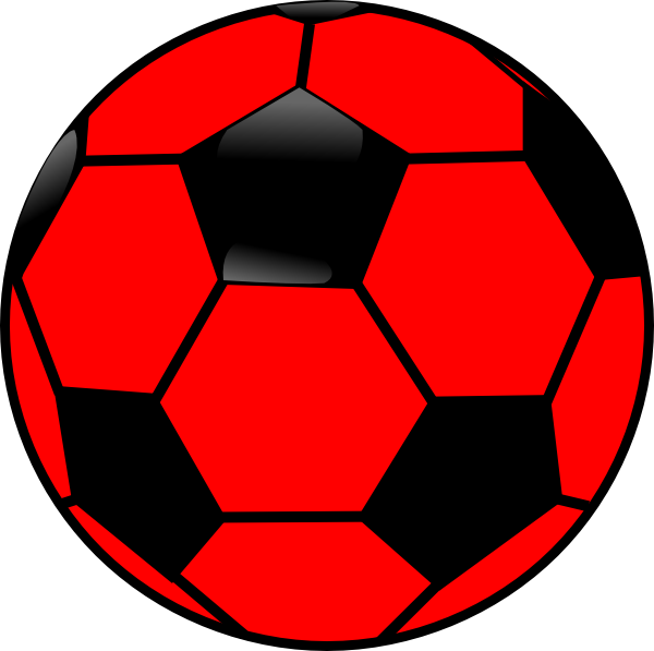 Picture clipart ball. Red pencil and in