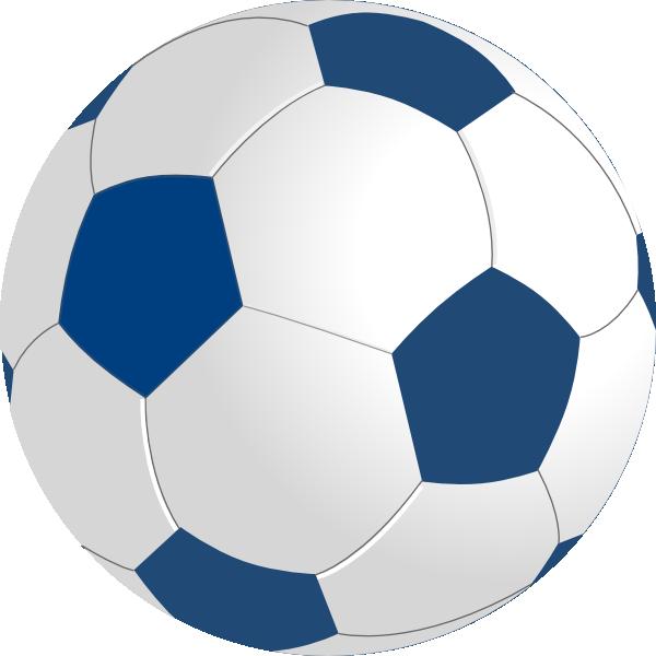 Football clipart blue. Ball clip art at