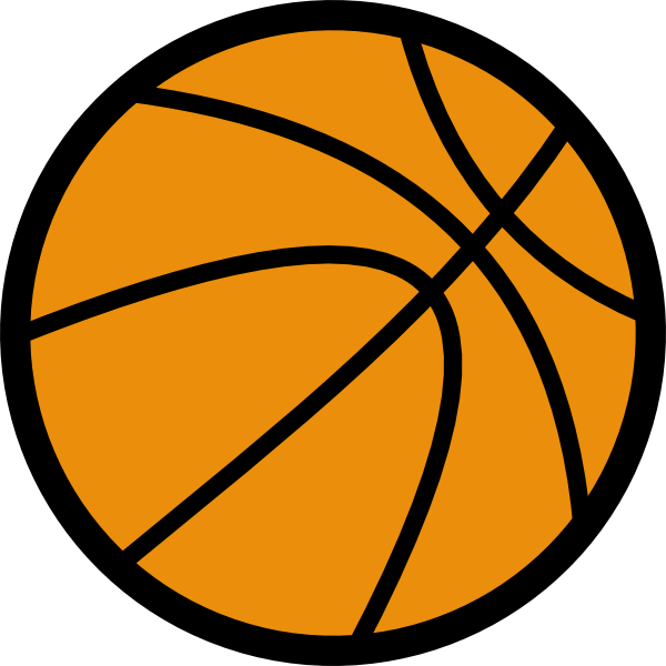 Basketball vector png. Clip art at clker