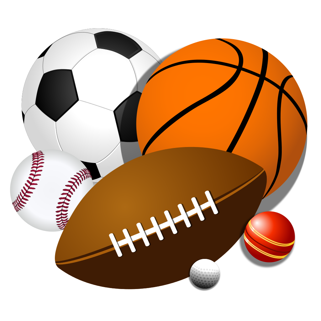 Athletic clipart ball. Sport game american football