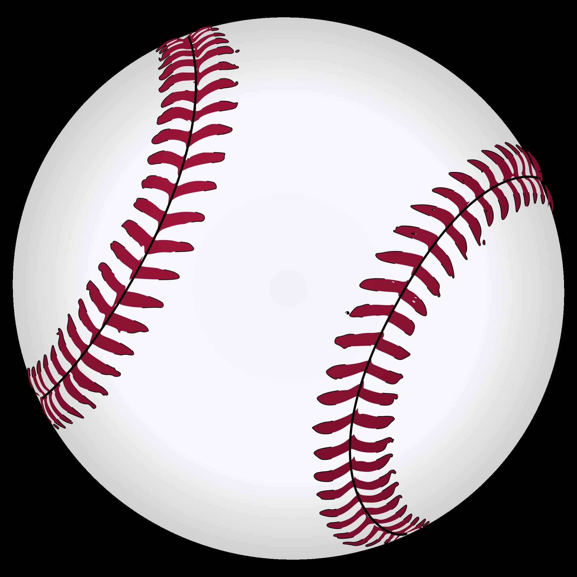 Baseball ball drawing at. Softball clipart draw