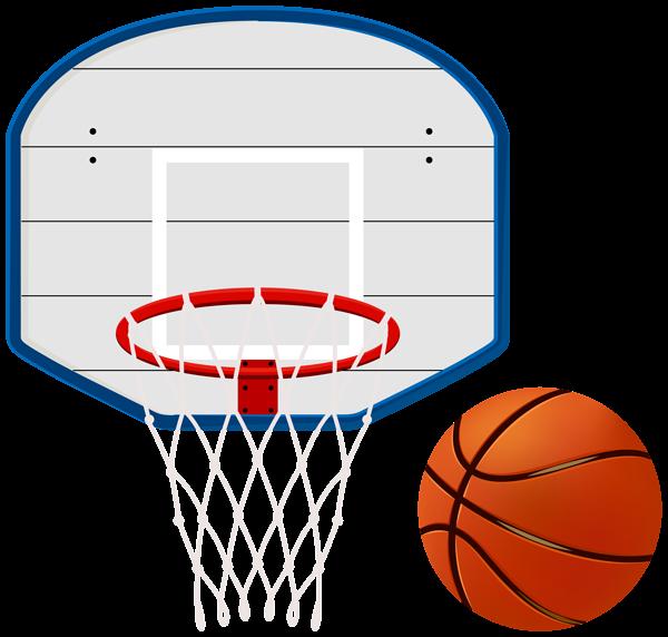 Court clipart transparent background. Basketball hoop clip art