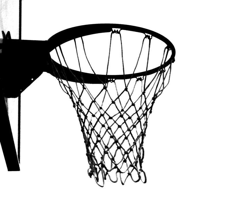 Basketball goal drawing at. Goals clipart basket ball