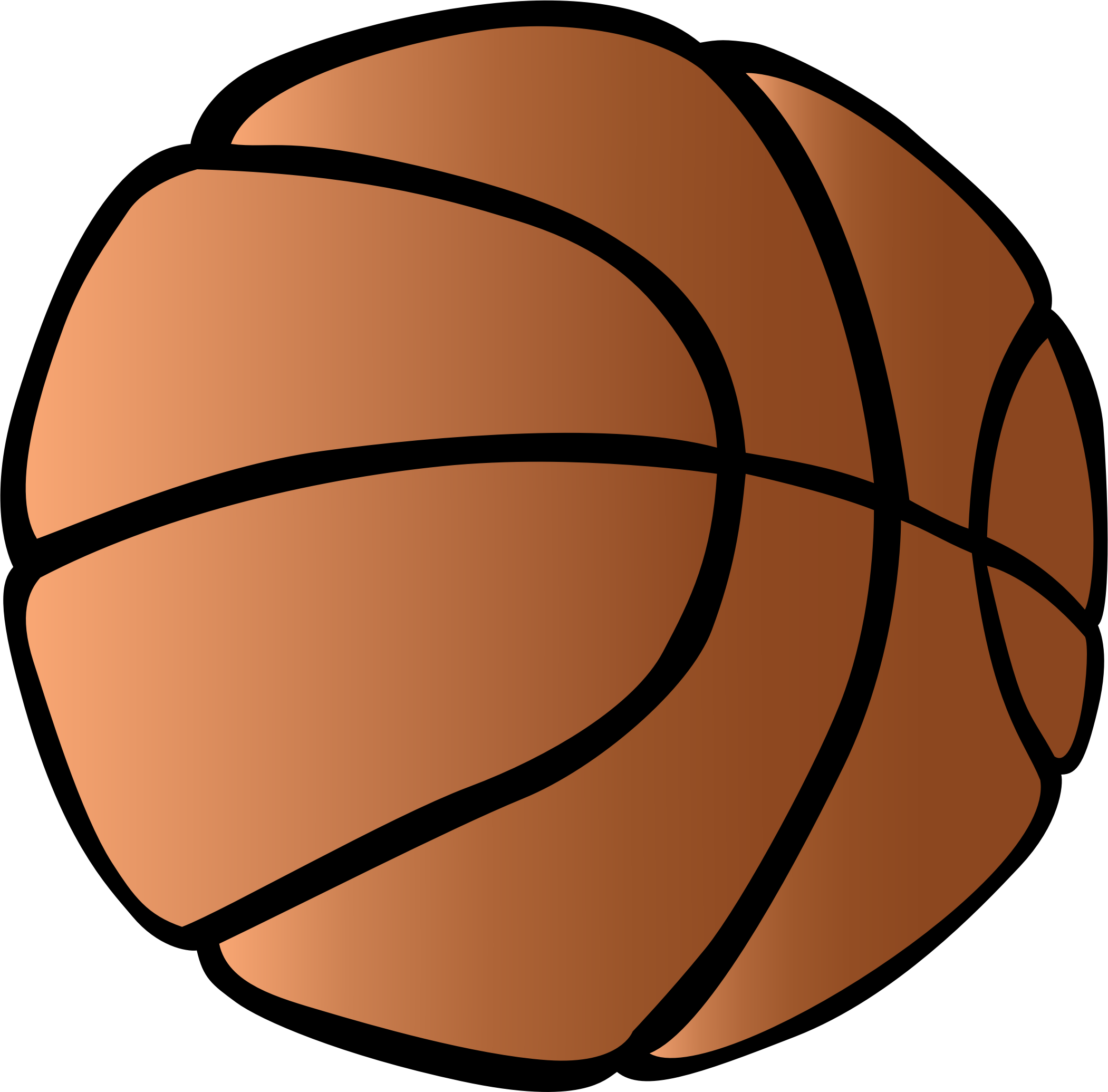 . Picture clipart basketball