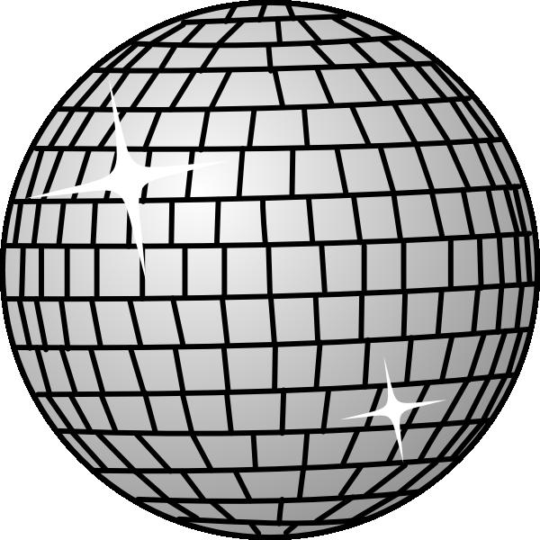 Disco ball clip art. Clipart globe dancing