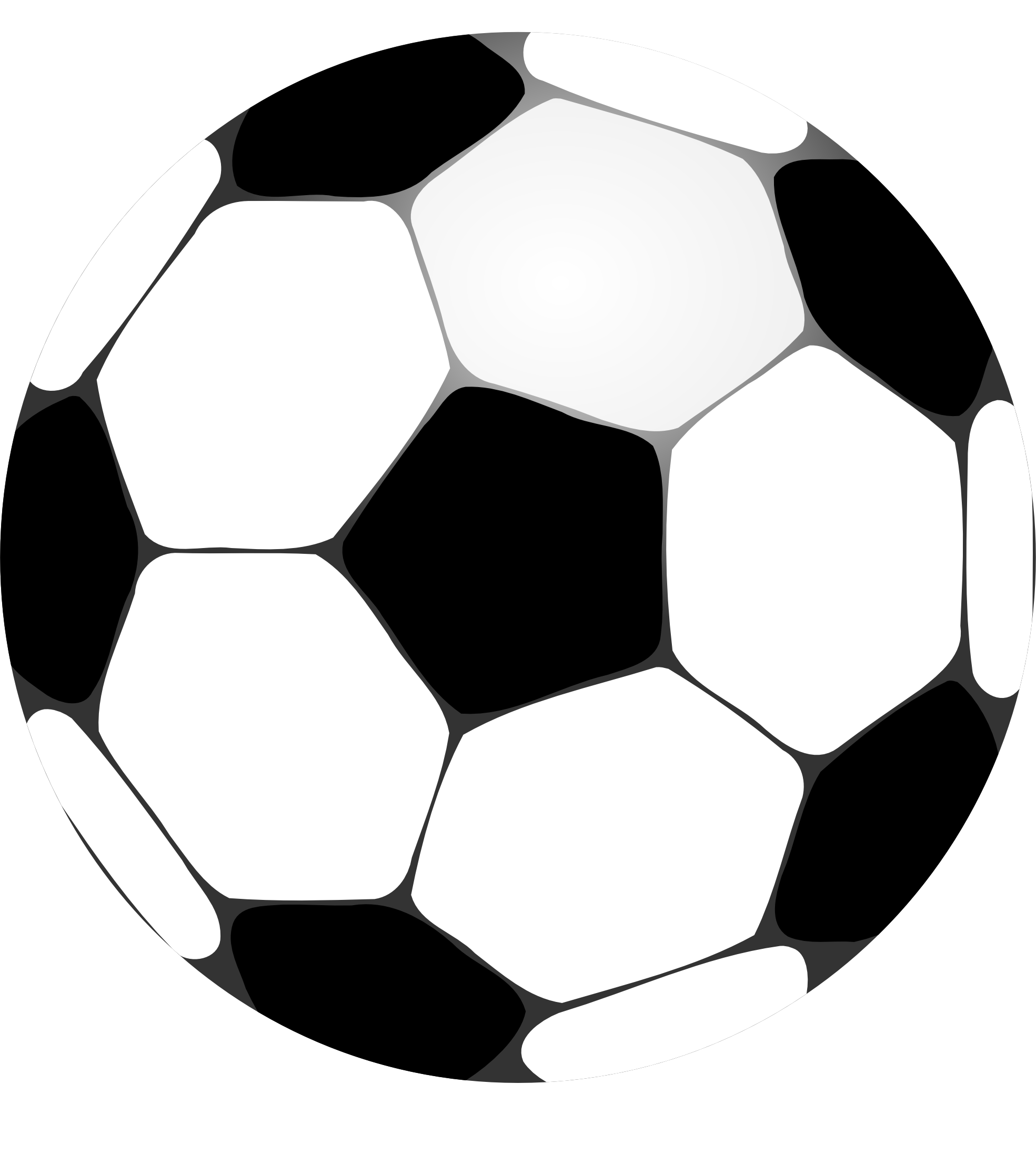Clipart football template. Soccer ball clip art