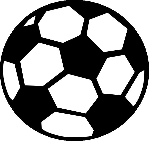 Soccer ball border clip. Goals clipart sport