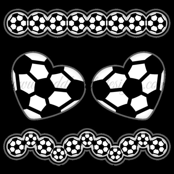 Soccer clip art sports. Clipart borders football