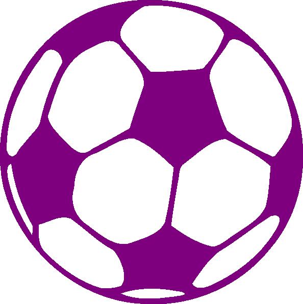 Clipart box soccer ball. Purple clip art at
