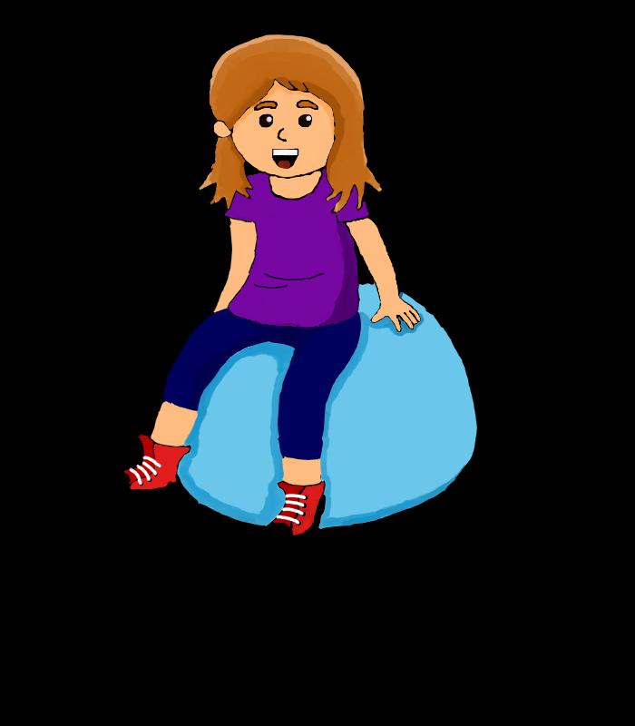 Yoga ball seat by. Goals clipart acheivement