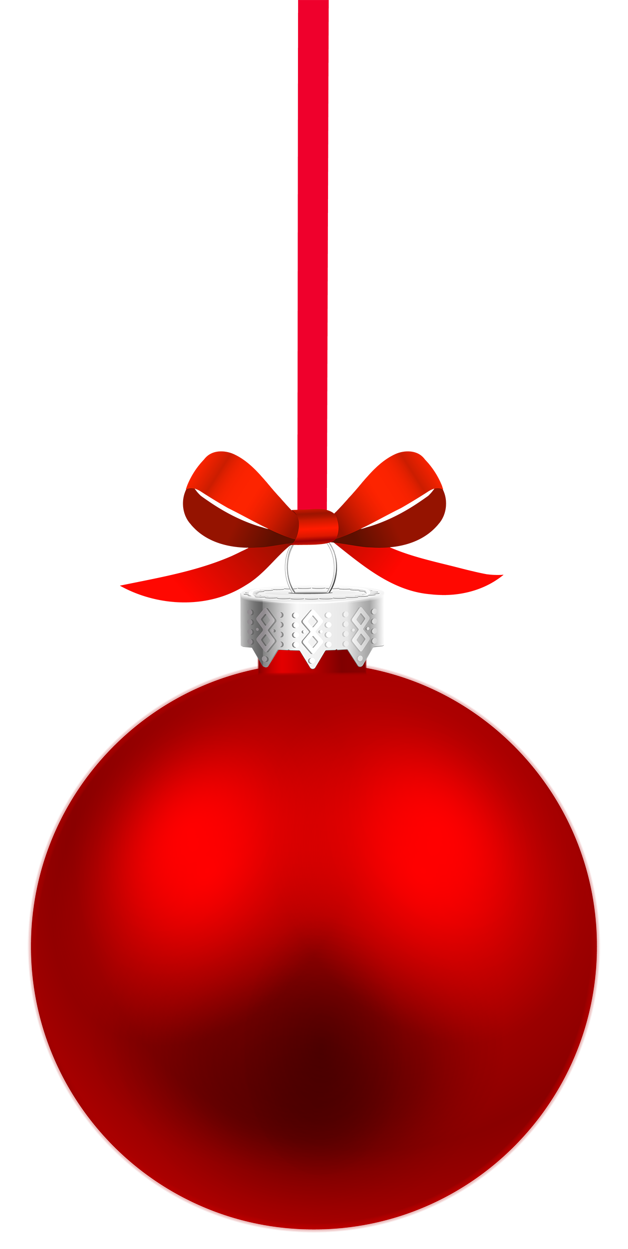 Clipart box ball. Red hanging christmas png