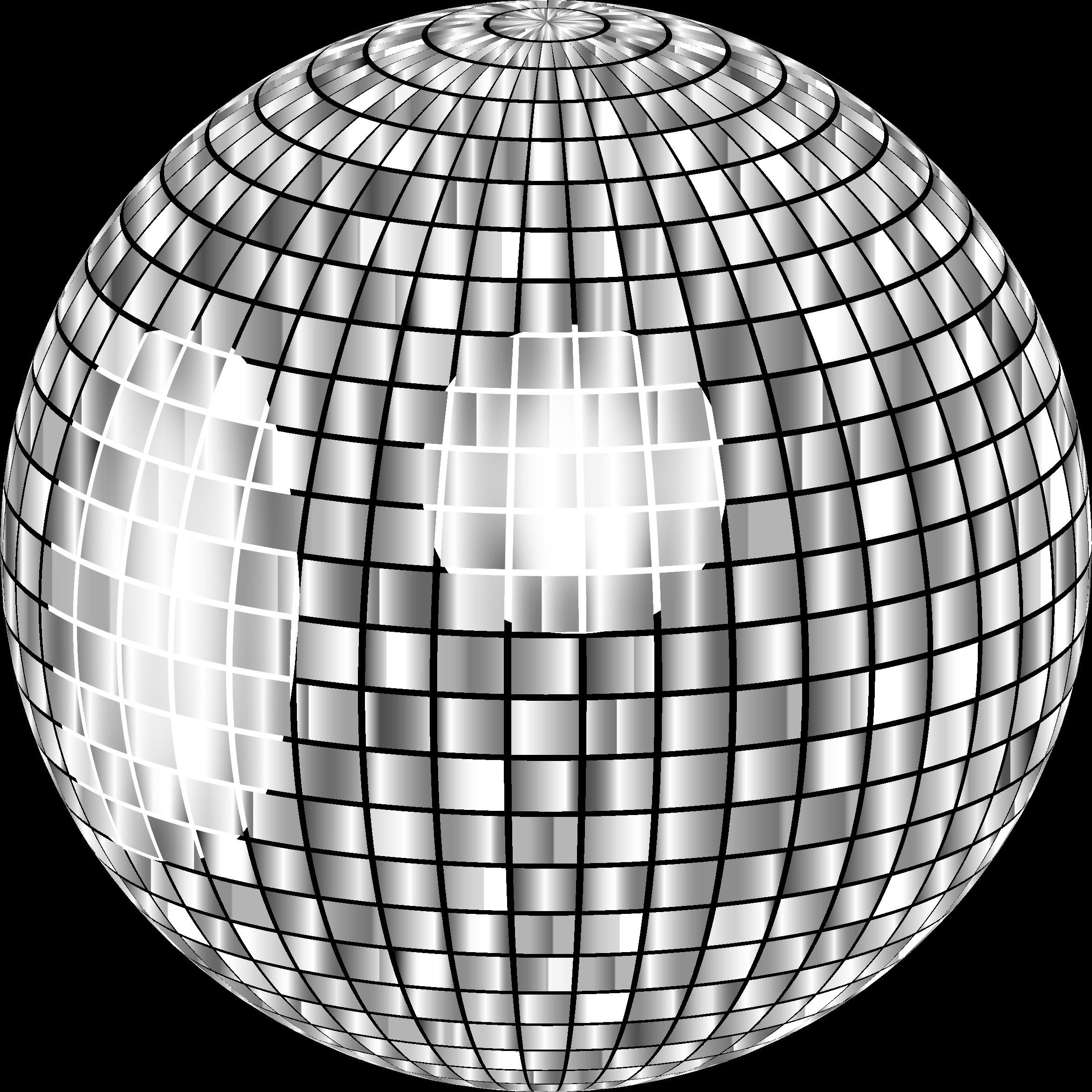 Glimmering no background big. Disco clipart disco ball