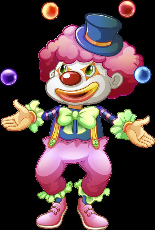 Clown clipart acrobat. Circo palha o e
