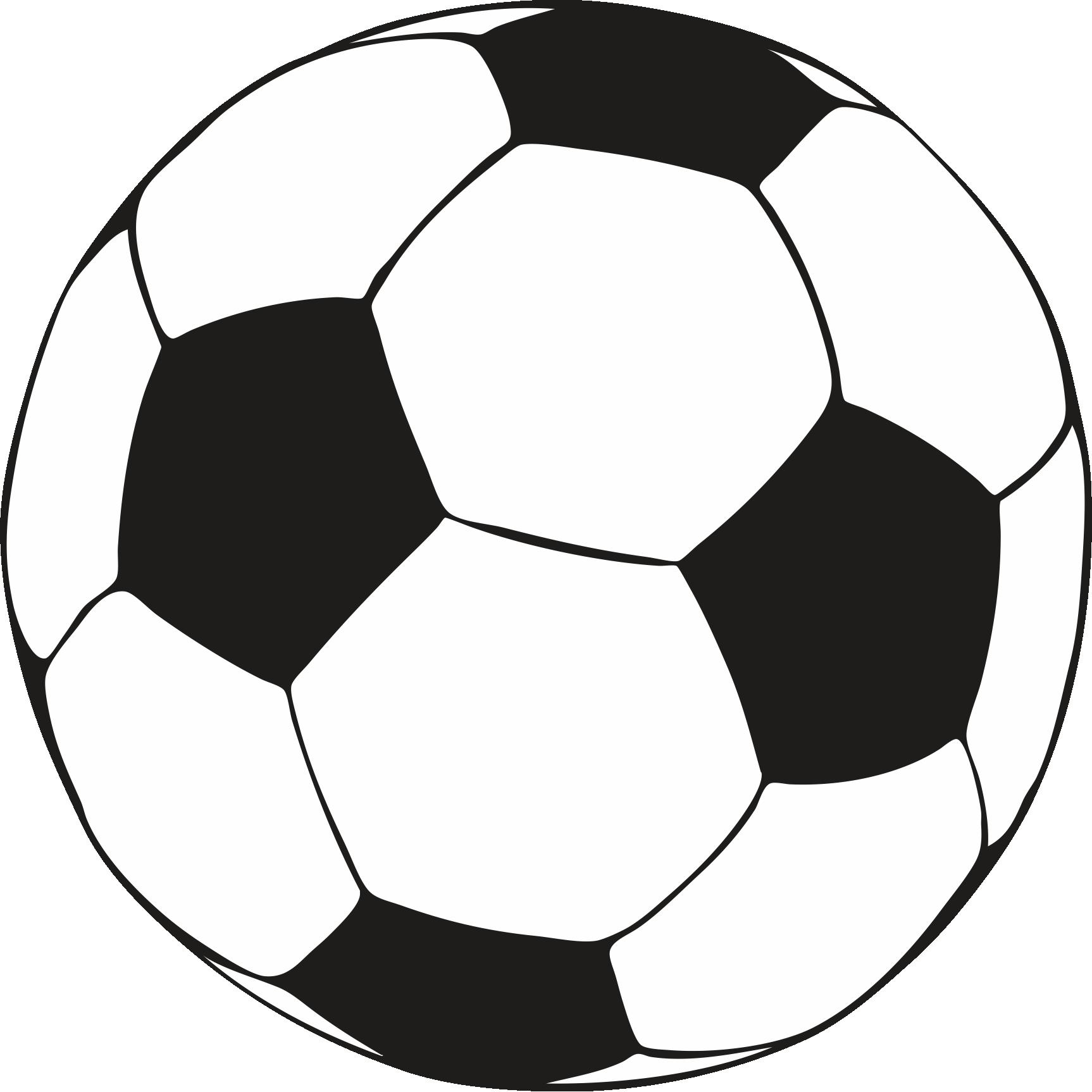 Color football pencil and. Ball clipart printable