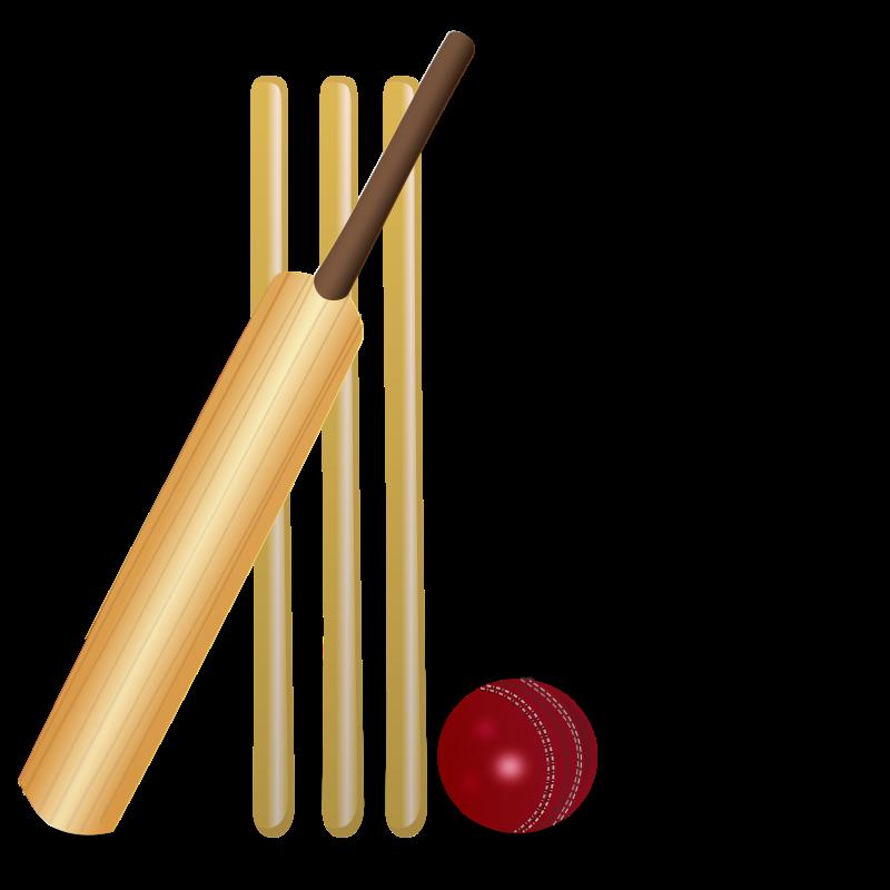 Medium image png . Clipart ball cricket bat