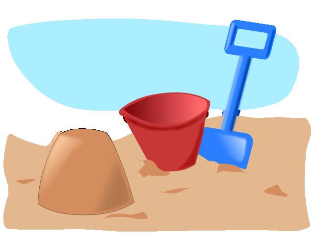 Farmer clipart shovel. Beach toys panda free