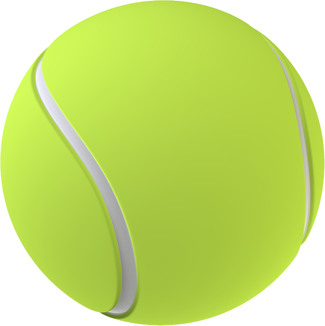 collection of tennis. Clipart ball dog