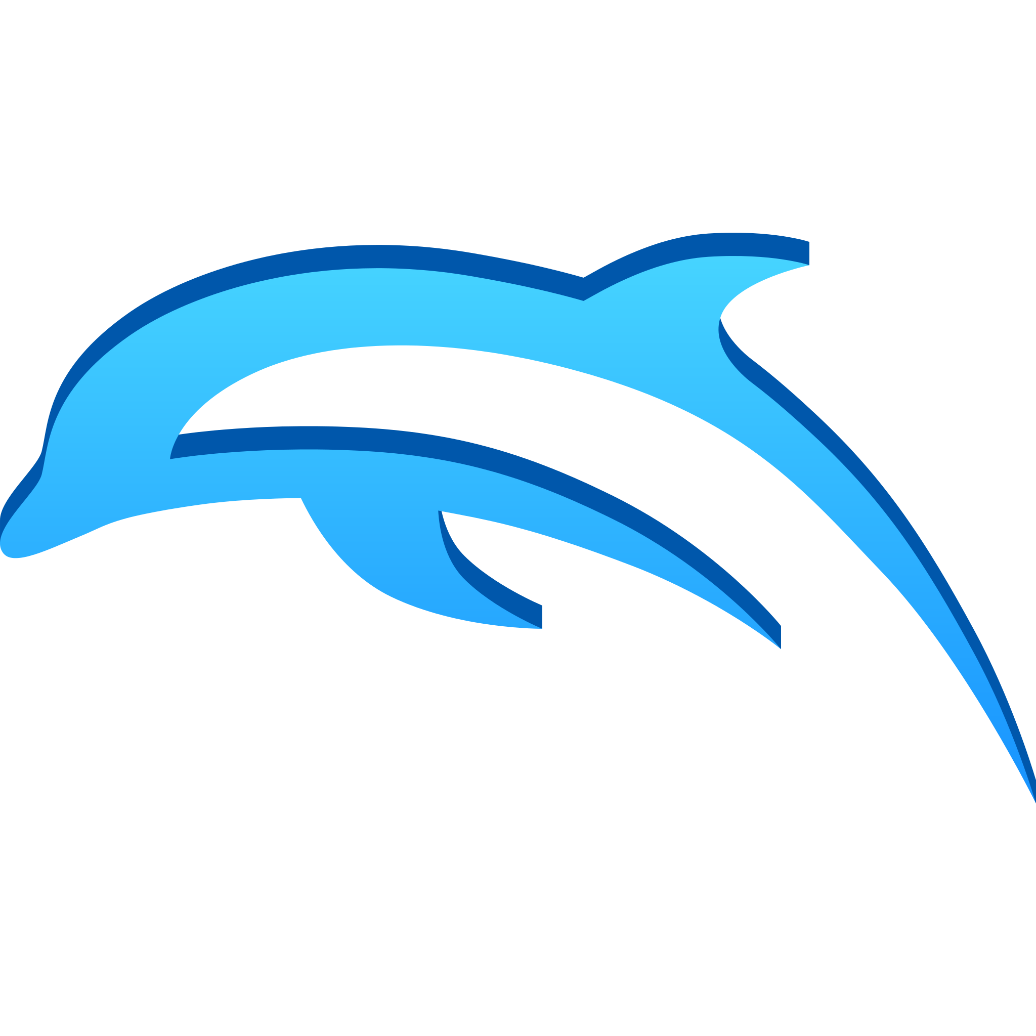 Clipart waves dolphin. Emulator on twitter this