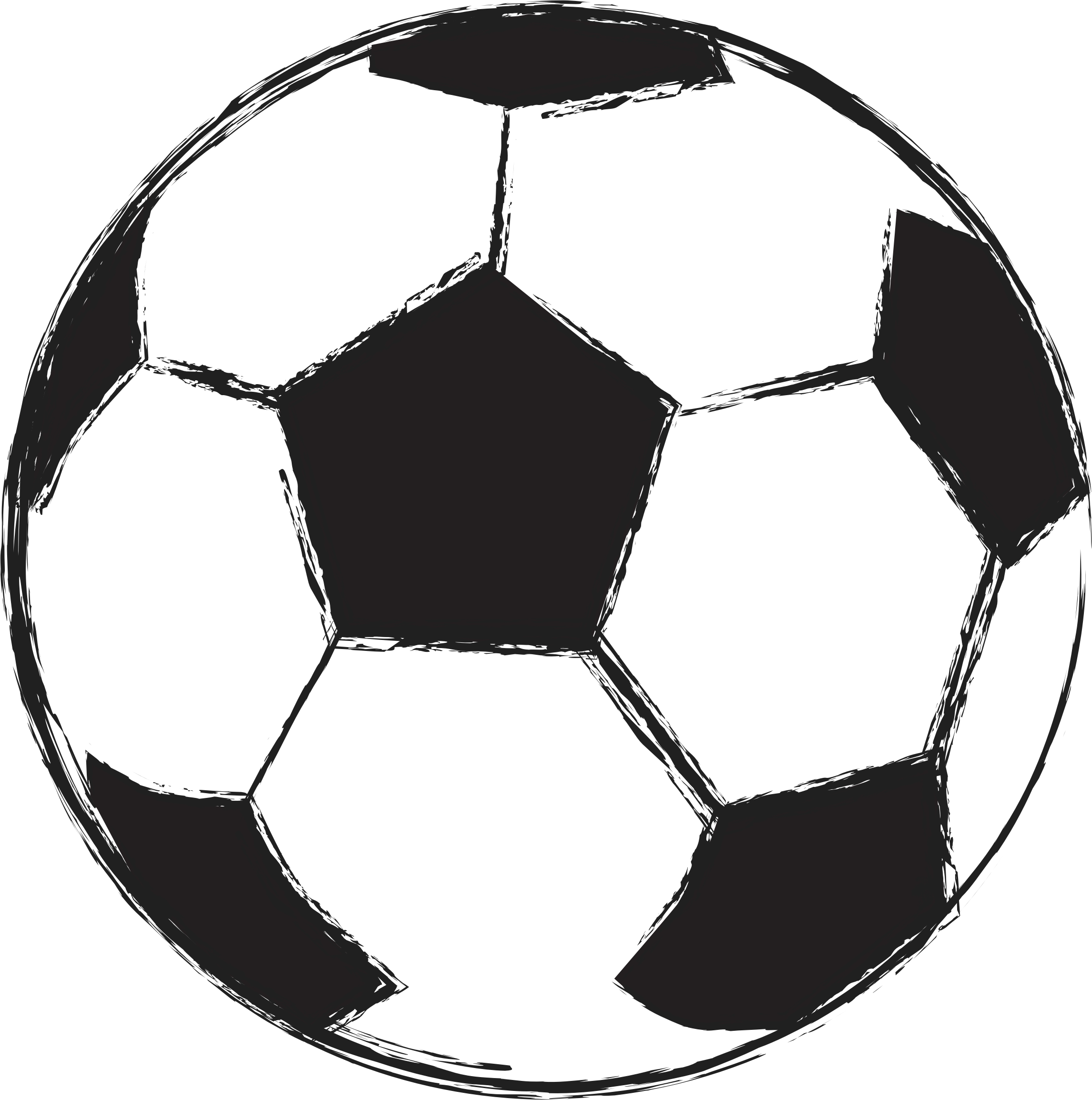 Clipart football sketch.  collection of soccer