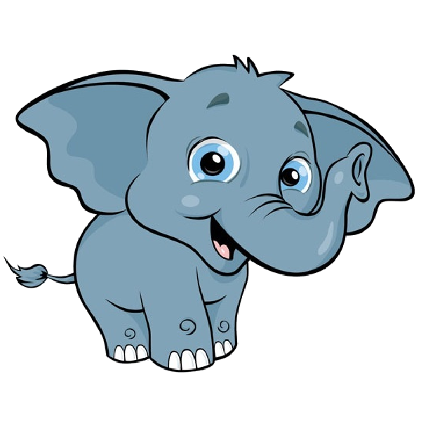 Heart clipart elephant. Baby cartoon pictures