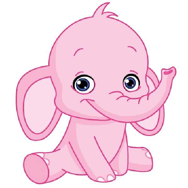 Pumpkin clipart baby shower. Cute elephant pink giraffe