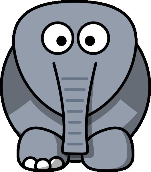 Elephant at getdrawings com. No clipart clker