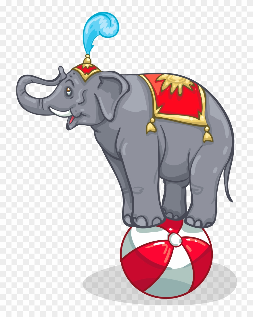 Clipart elephant ball. Item detail circus itembrowser