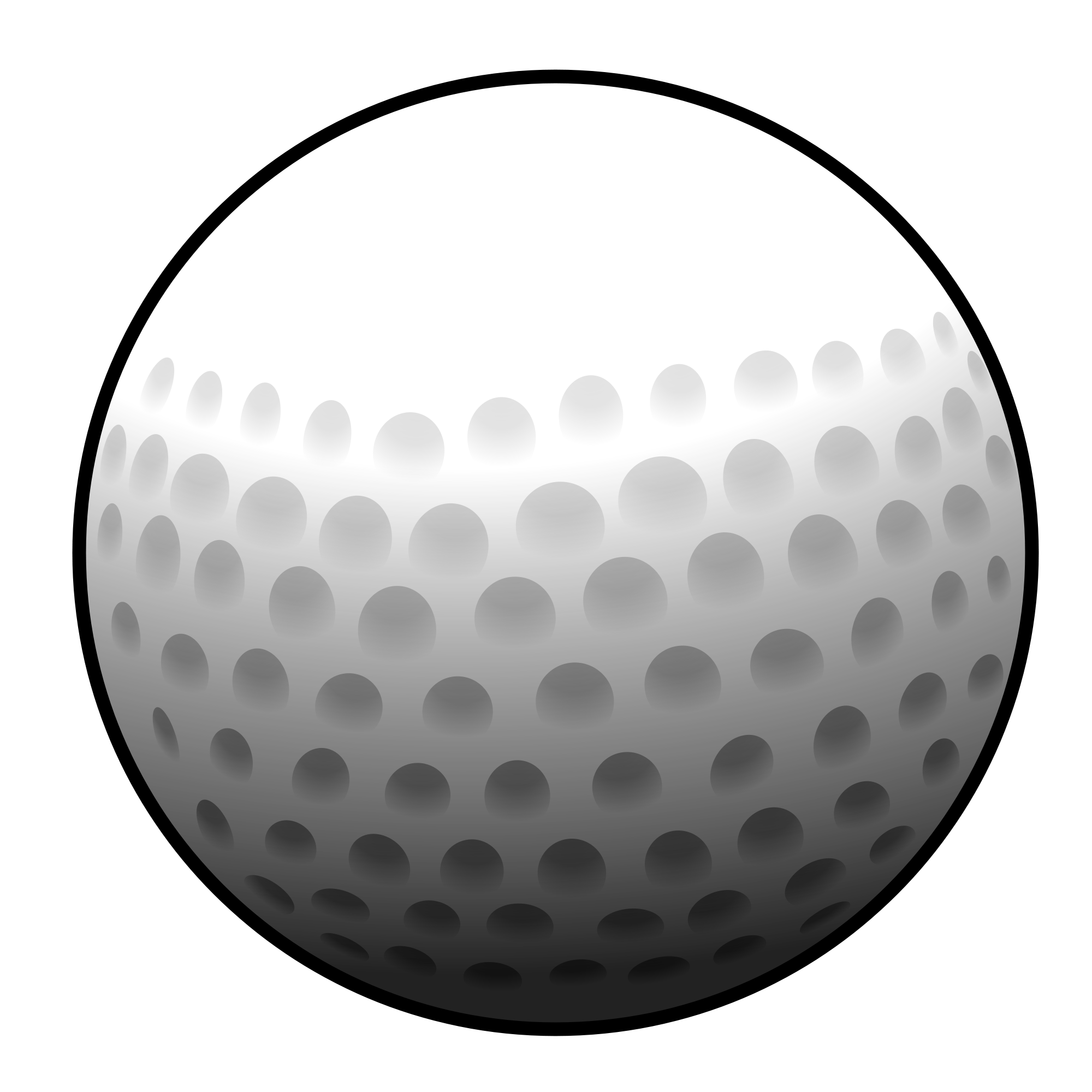 Golf ball vector png. File svg wikimedia commons