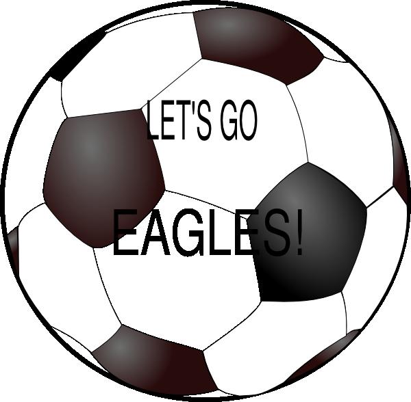 Football clipart eagles. Soccer ball clip art