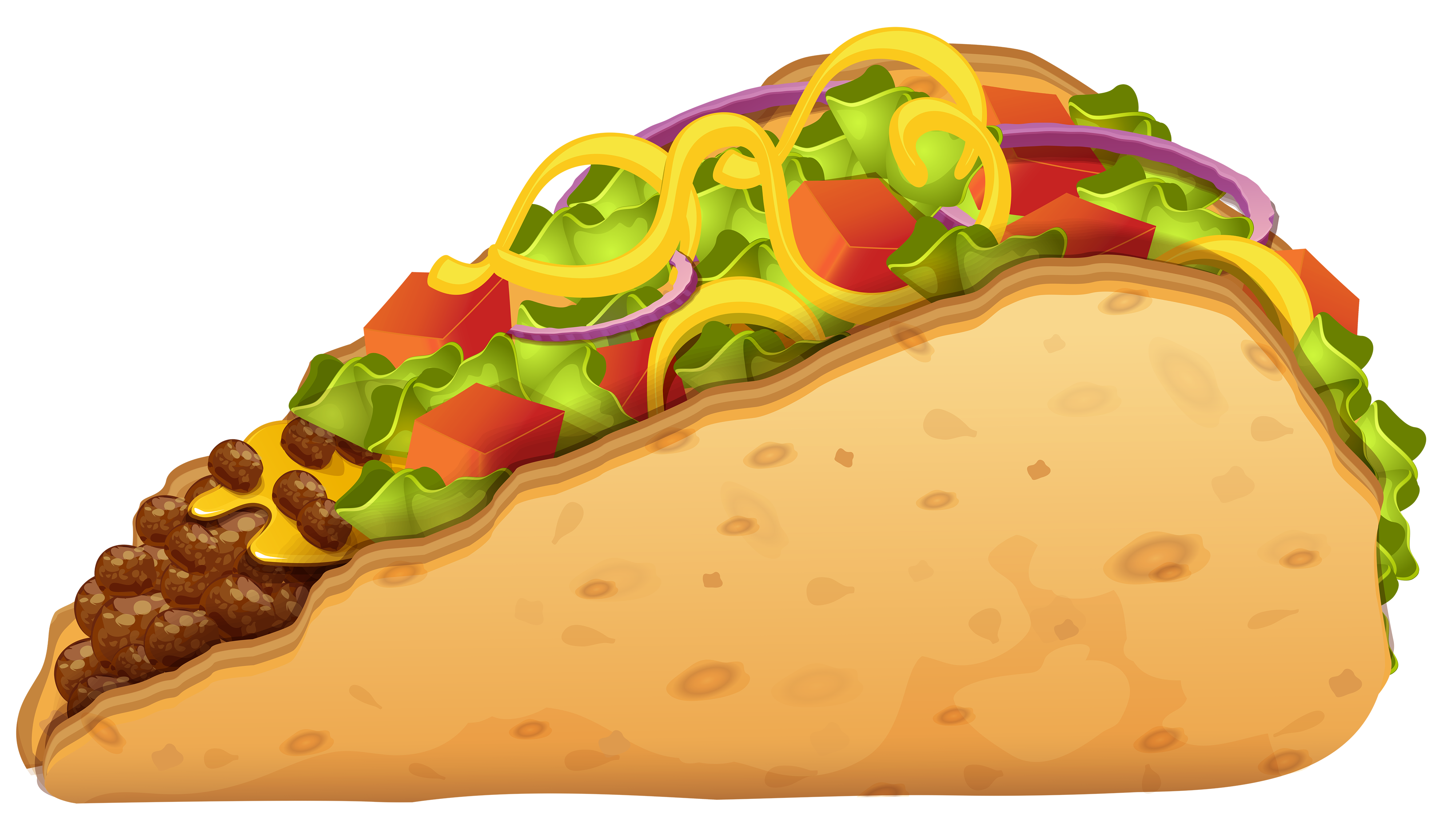 Fruits clipart sandwich. With onion and lettuce