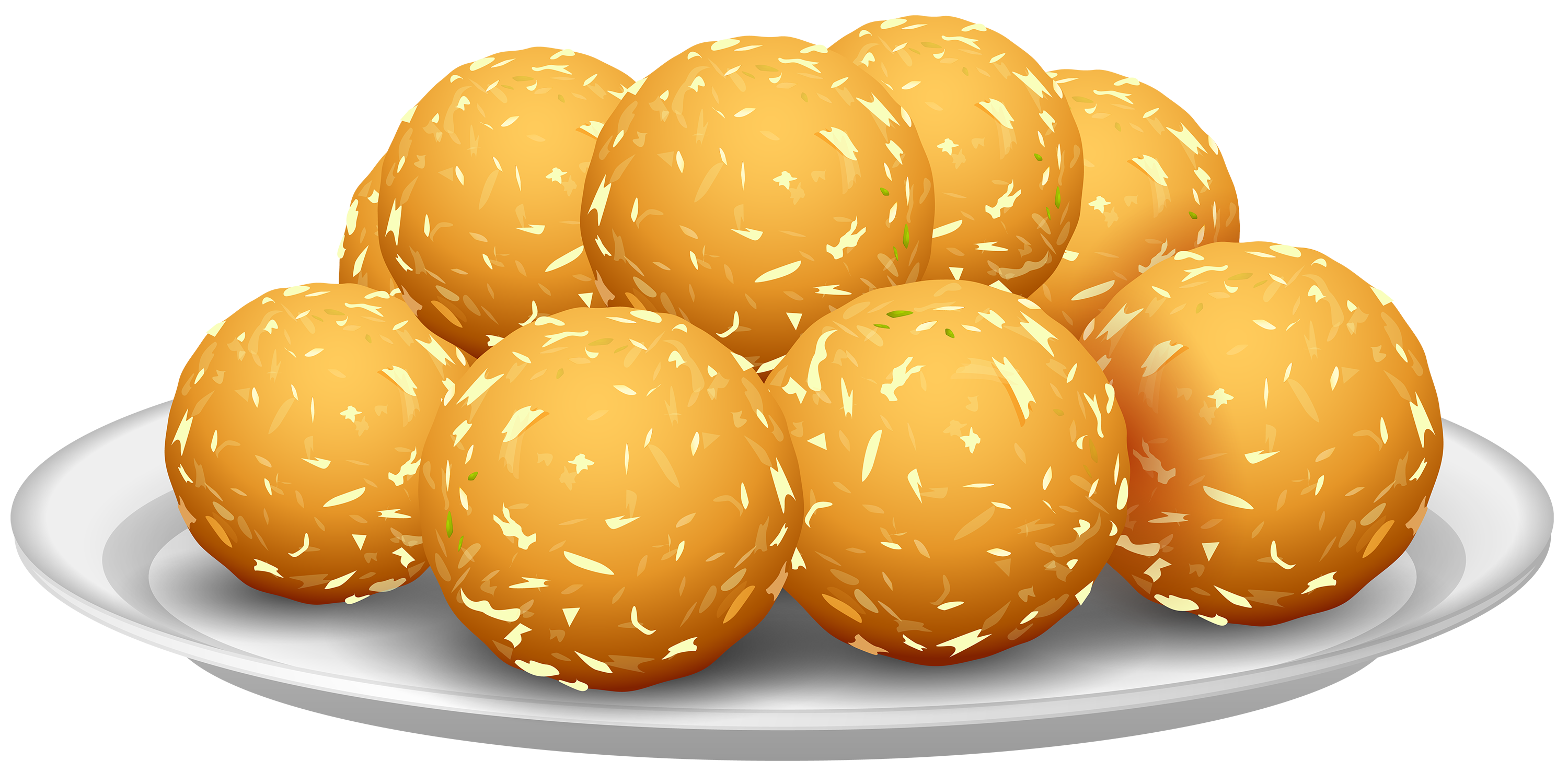 Food clipart ball. Potato croquettes png best