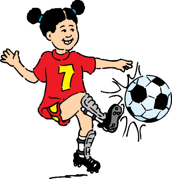 Girly clipart football. Girl clip art at