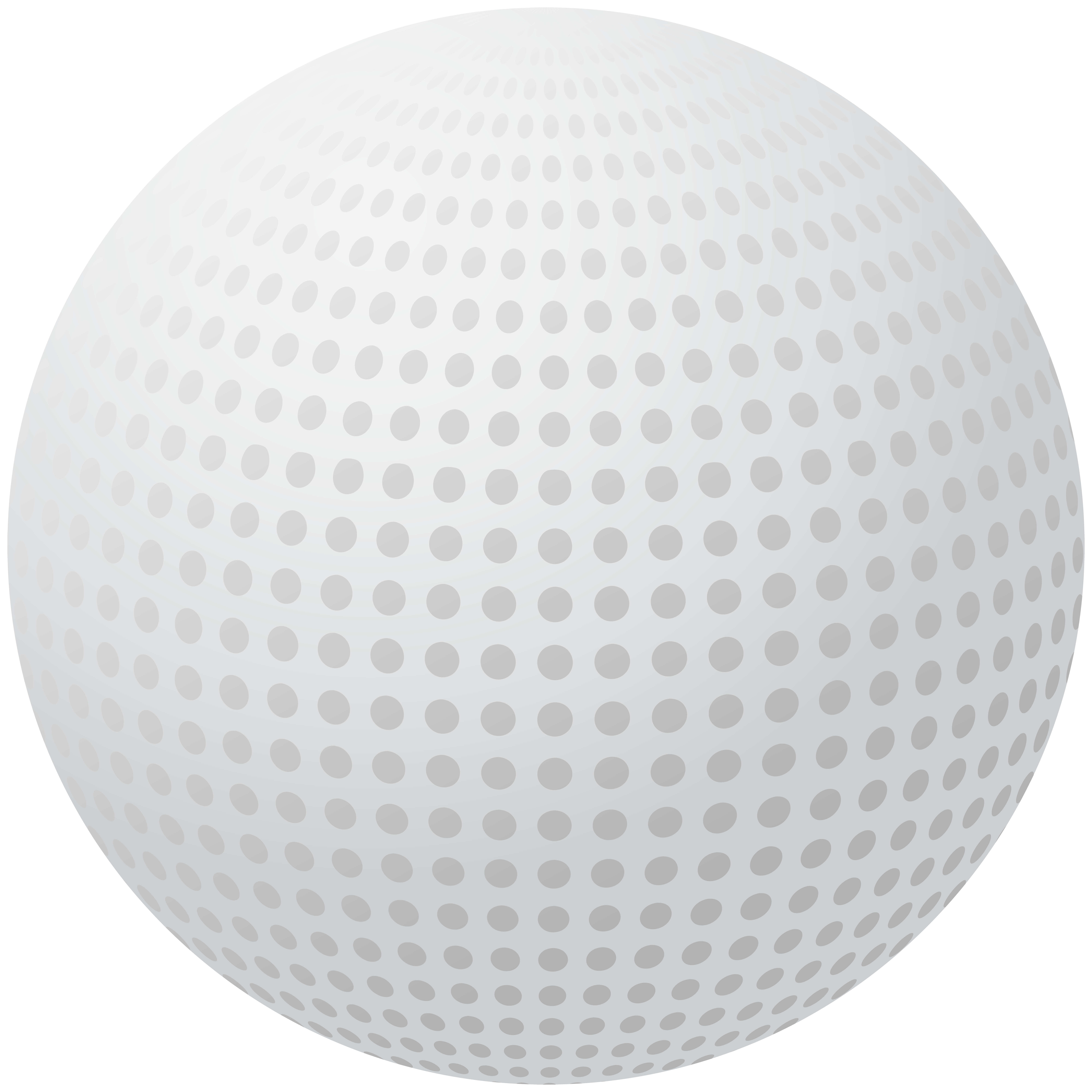 Golf ball png clip. Cube clipart sphere