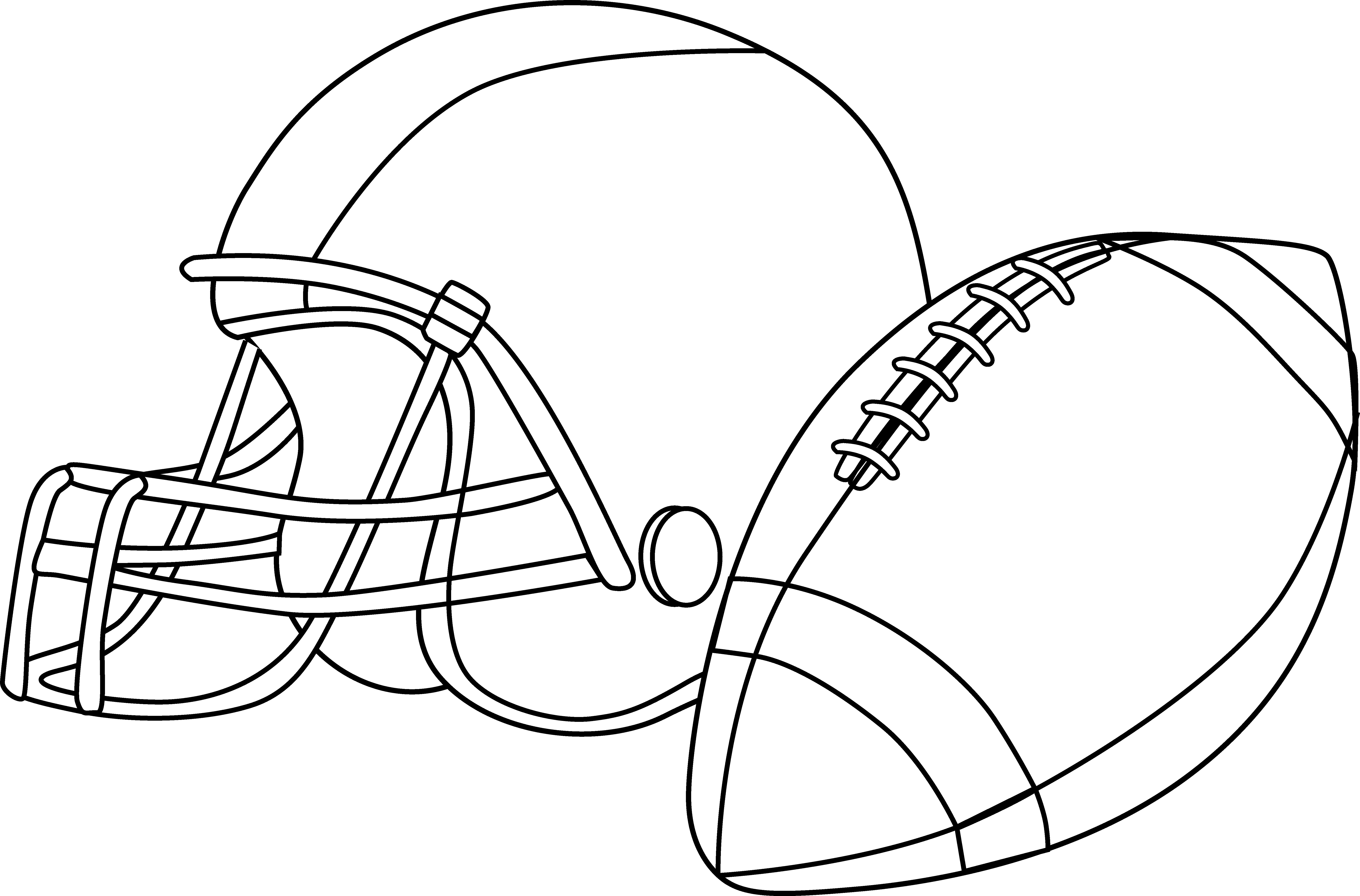 Field clipart footbal. American football coloring pages