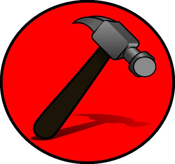 clipart hammer green